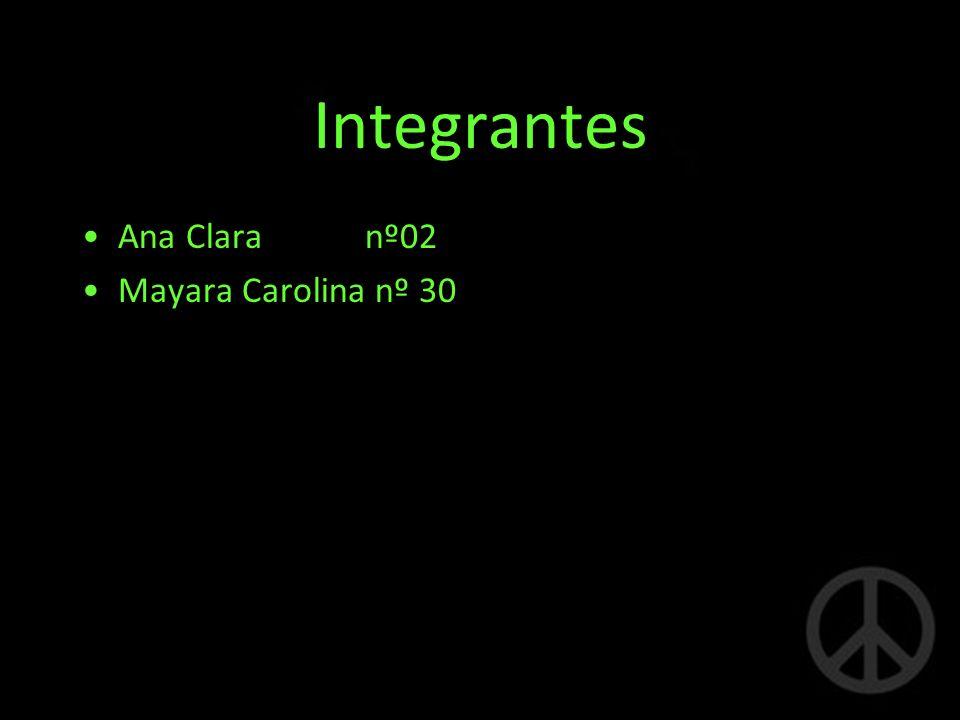 Integrantes Ana Clara nº02 Mayara Carolina nº 30
