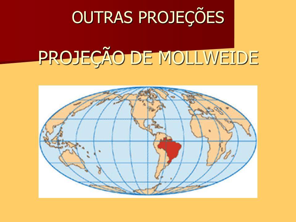 OUTRAS PROJEÇÕES PROJEÇÃO DE MOLLWEIDE