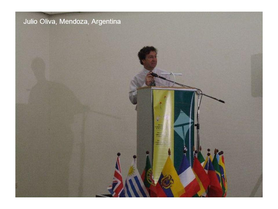 Julio Oliva, Mendoza, Argentina
