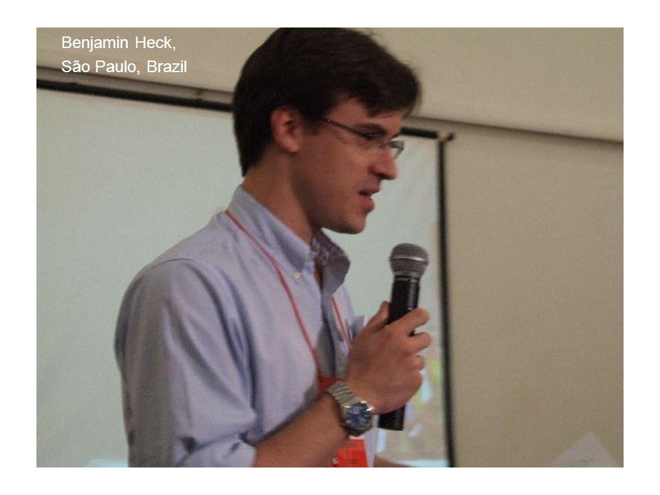 Benjamin Heck, São Paulo, Brazil