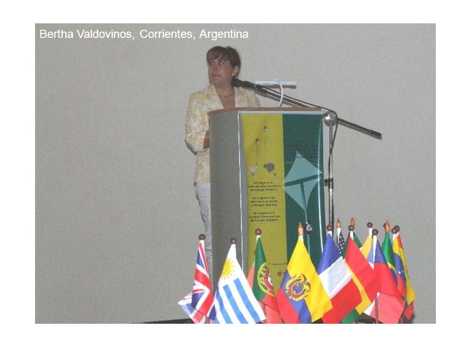 Bertha Valdovinos, Corrientes, Argentina