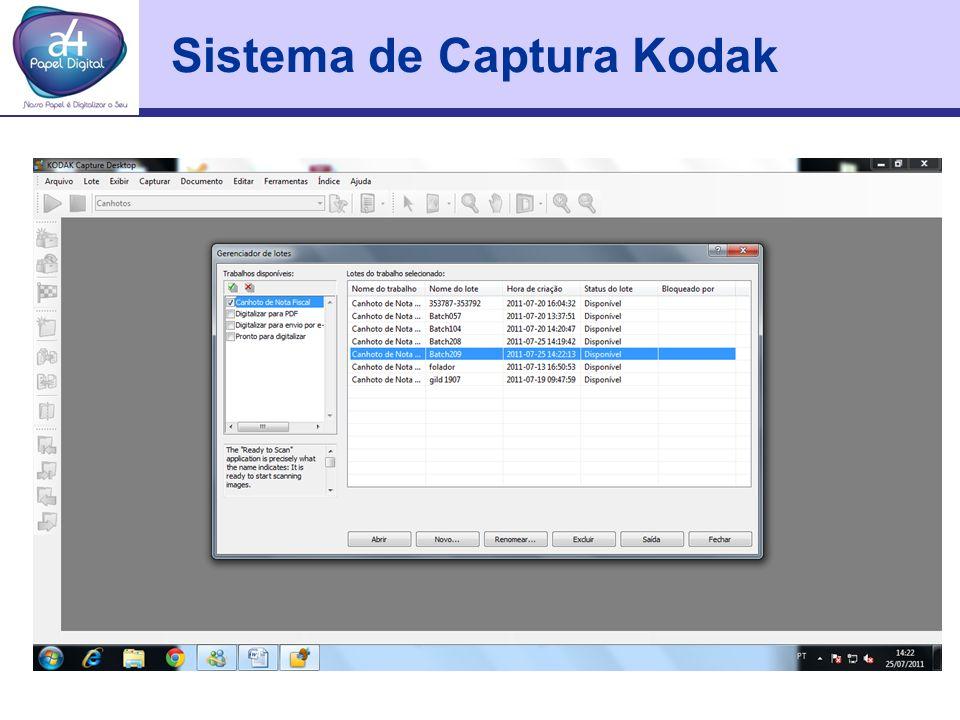 Sistema de Captura Kodak