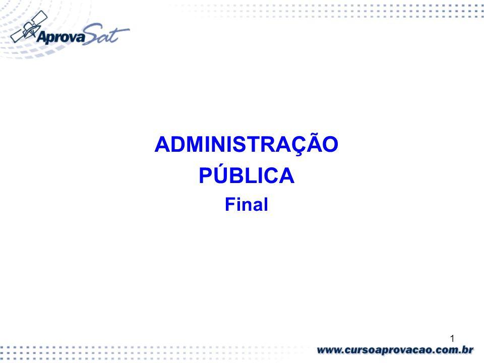 2 ADMINISTRAÇÃO 10.1.3 Conceito de Gestão Pública (Página 15) Gestão Pública é a atividade administrativa realizada em obediência à lei, às normas e à política por um período de tempo previamente estabelecido.