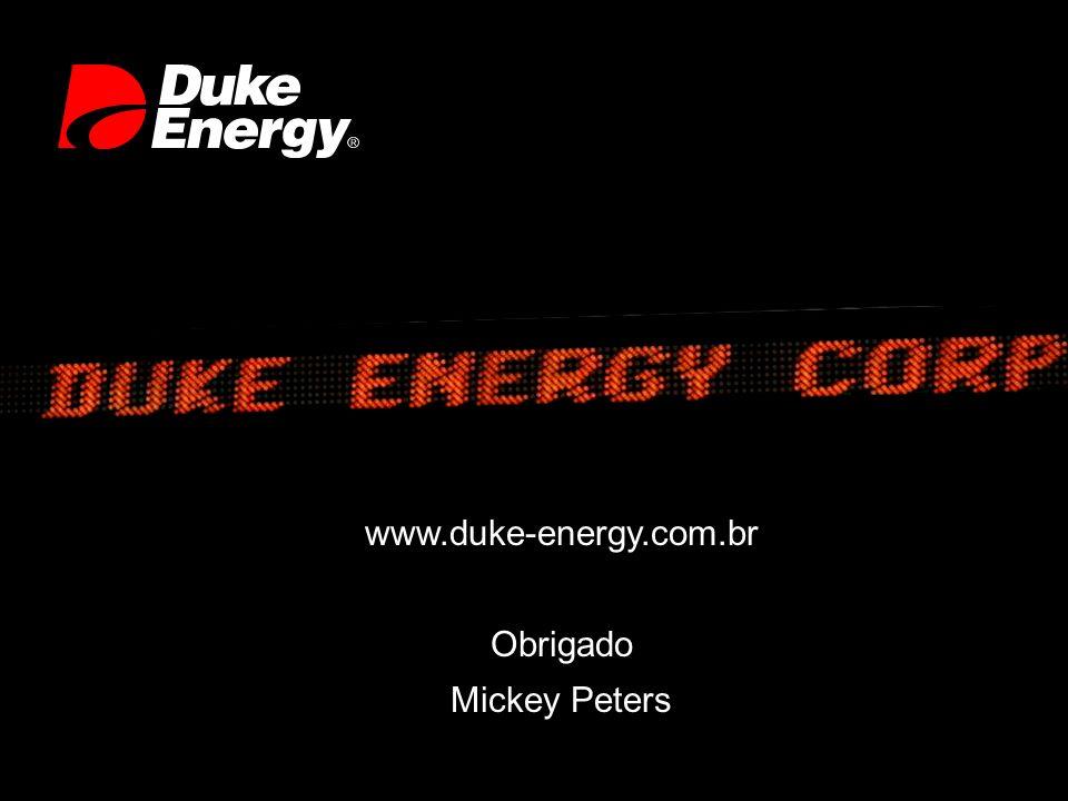 www.duke-energy.com.br Obrigado Mickey Peters