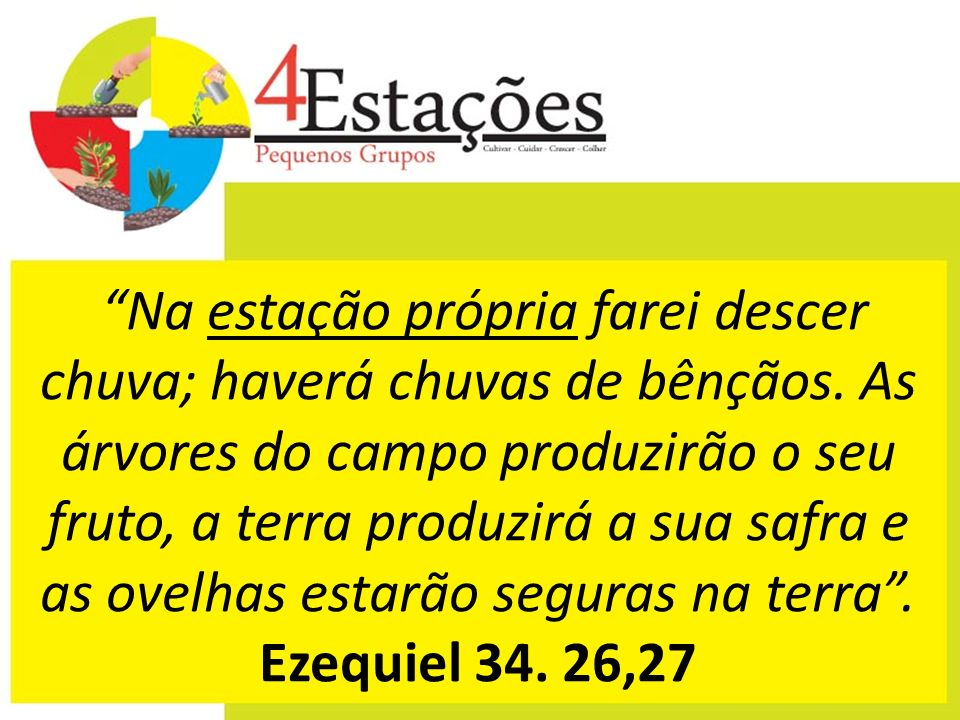 Também lhes suprirá e multiplicará a semente e fará crescer os frutos da sua justiça. 2 Co 9.10