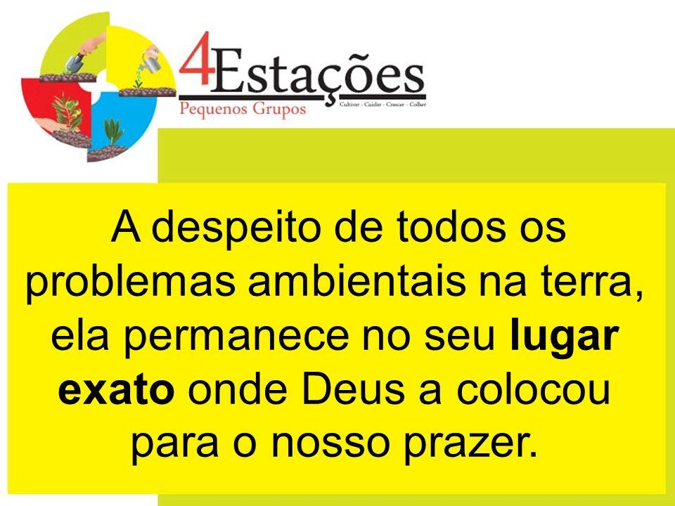 2) Estação - CUIDADO Cuide dos brotos que Deus fez nascer!