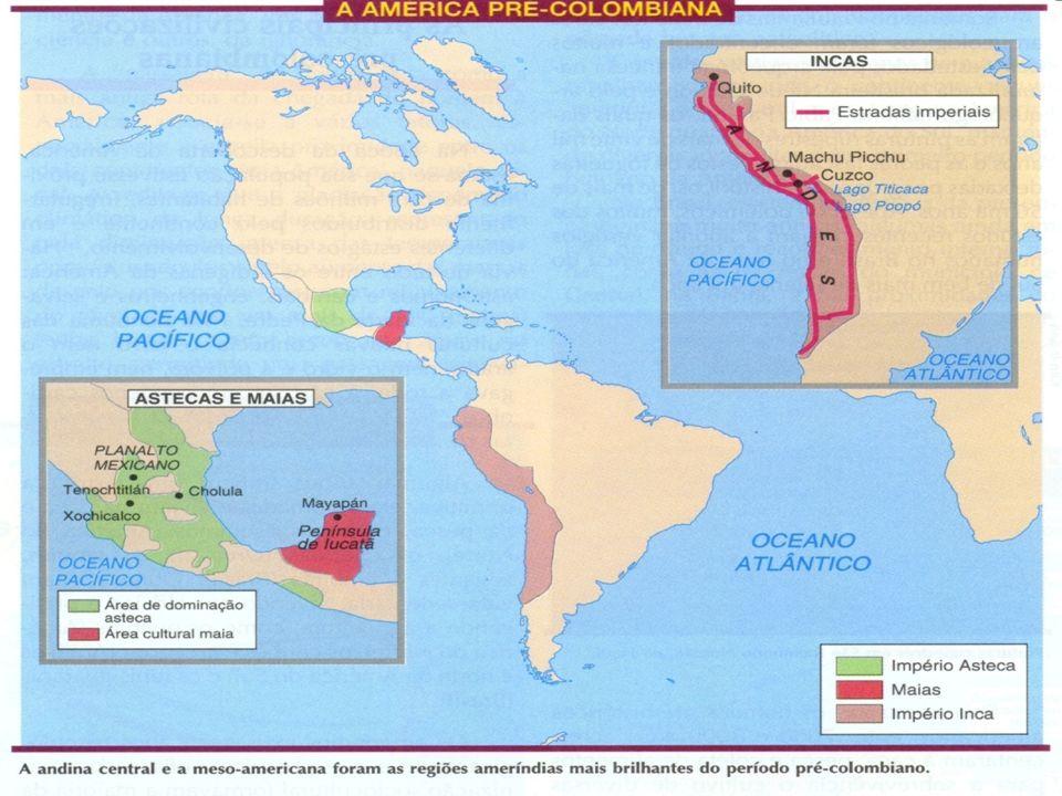 As Relações de Trabalho Encomienda: repartição das aldeias pelos conquistadores que cobravam tributos em gêneros e/ou trabalho agrícolas ou nas minas, sem ter direitos as terras dos índios.