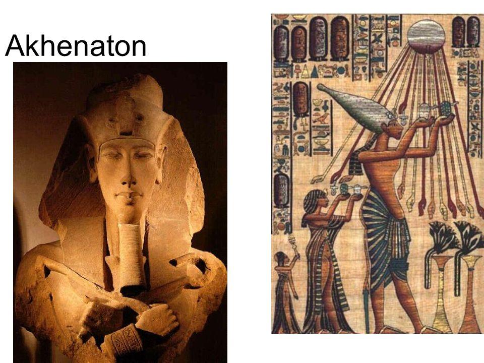 ARTE EGÍPICIA - A religião invadiu toda a vida egípcia, interpretando o universo, justificando sua organização social e política, determinando o papel de cada classe social e, conseqüentemente, orientando toda a produção artística desse povo.