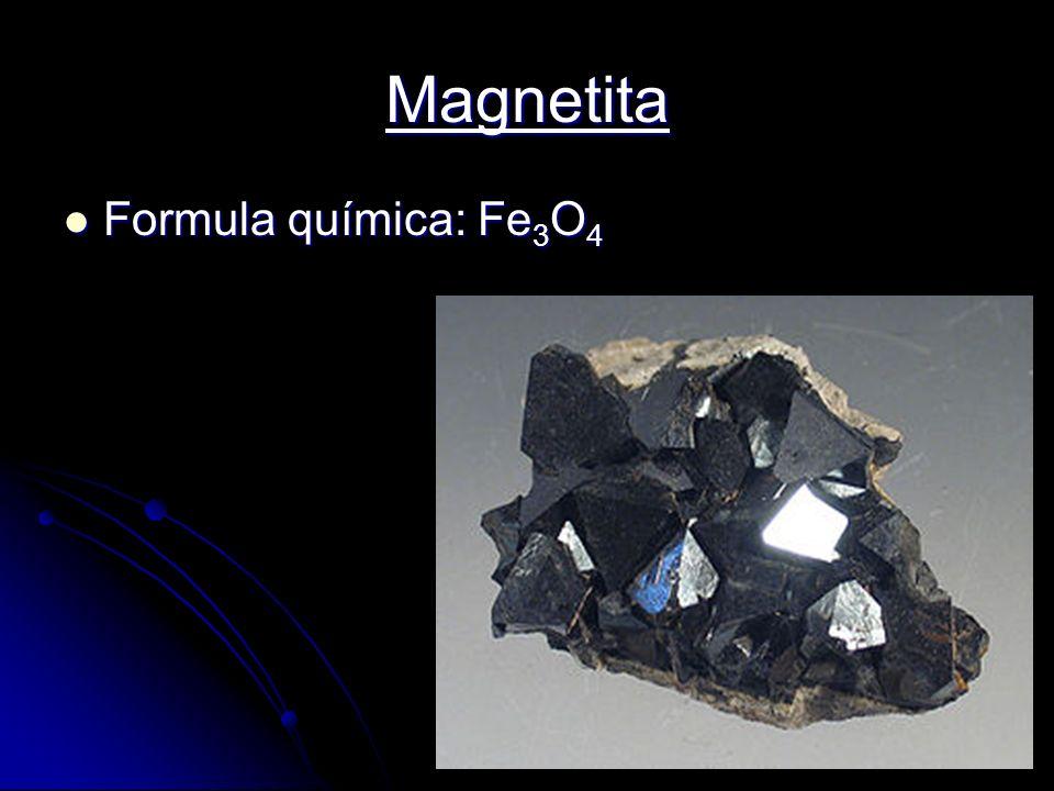 Imãs Tipos de imãs Naturais: Magnetita ( Magnetita (óxido de ferro) Artificiais: permanentes permanentes temporais temporais eletroímãs eletroímãs