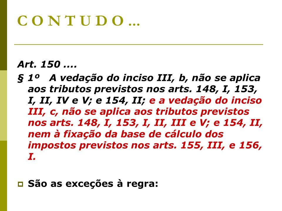C O N T U D O... Art. 150....