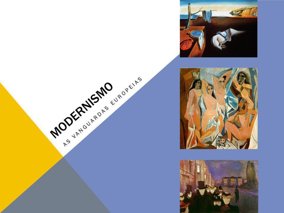 Na Europa, não houve uma arte moderna uniforme.