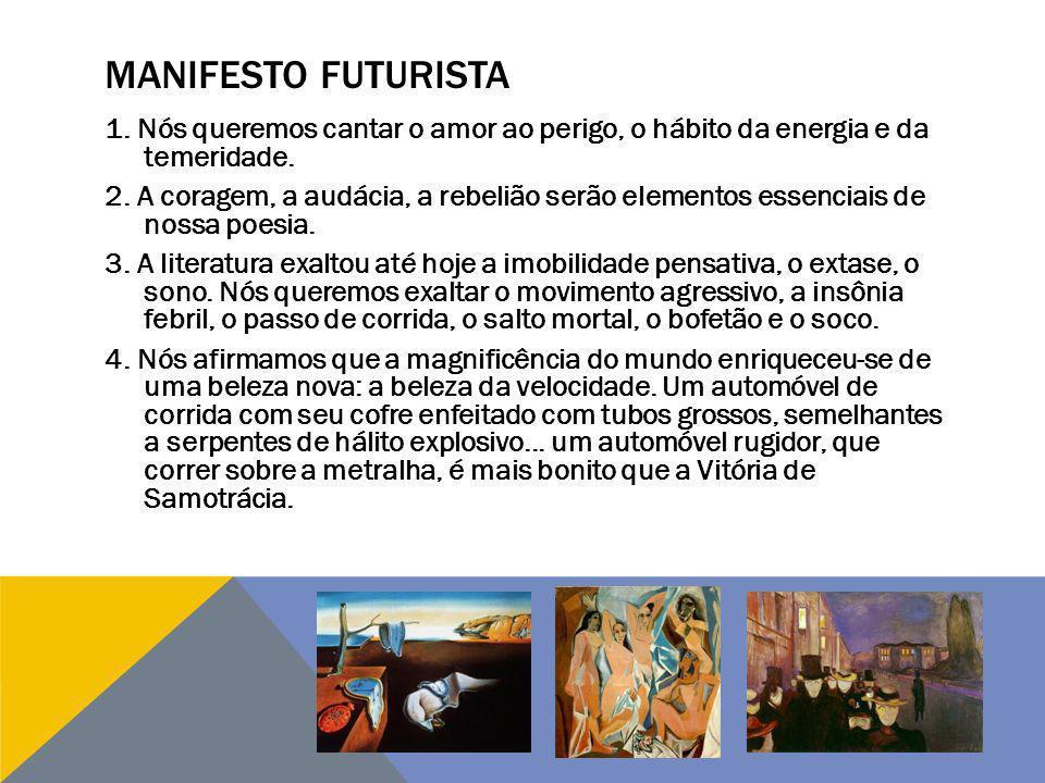 MANIFESTO FUTURISTA 5.