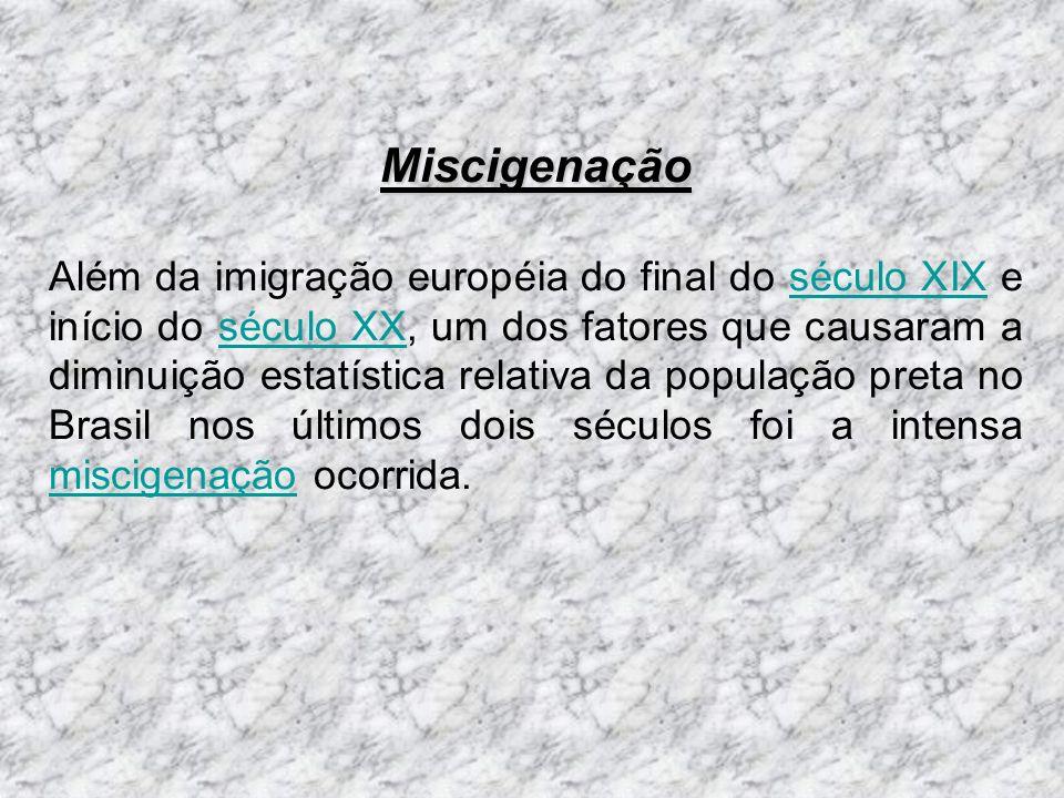 Pesquisas genéticas Uma recente pesquisa genética, encomendada pela BBC Brasil, analisou a ancestralidade de 120 brasileiros auto-declarados pretos que vivem em São Paulo.[32] Foram analisados o cromossomo Y, herdado do pai, e o DNA mitocondrial, herdado da mãe.