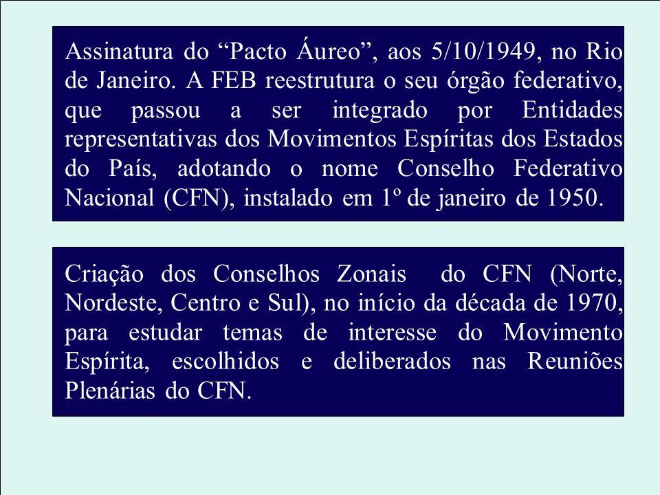 Comemoração do 1º Centenário de Nascimento de Allan Kardec, promovida pela FEB, no Rio de Janeiro, (3 a 5 de outubro de 1904), quando foram aprovadas