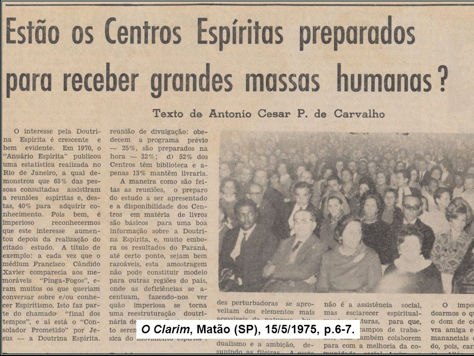 Assinatura do Pacto Áureo, aos 5/10/1949, no Rio de Janeiro. A FEB reestrutura o seu órgão federativo, que passou a ser integrado por Entidades repres