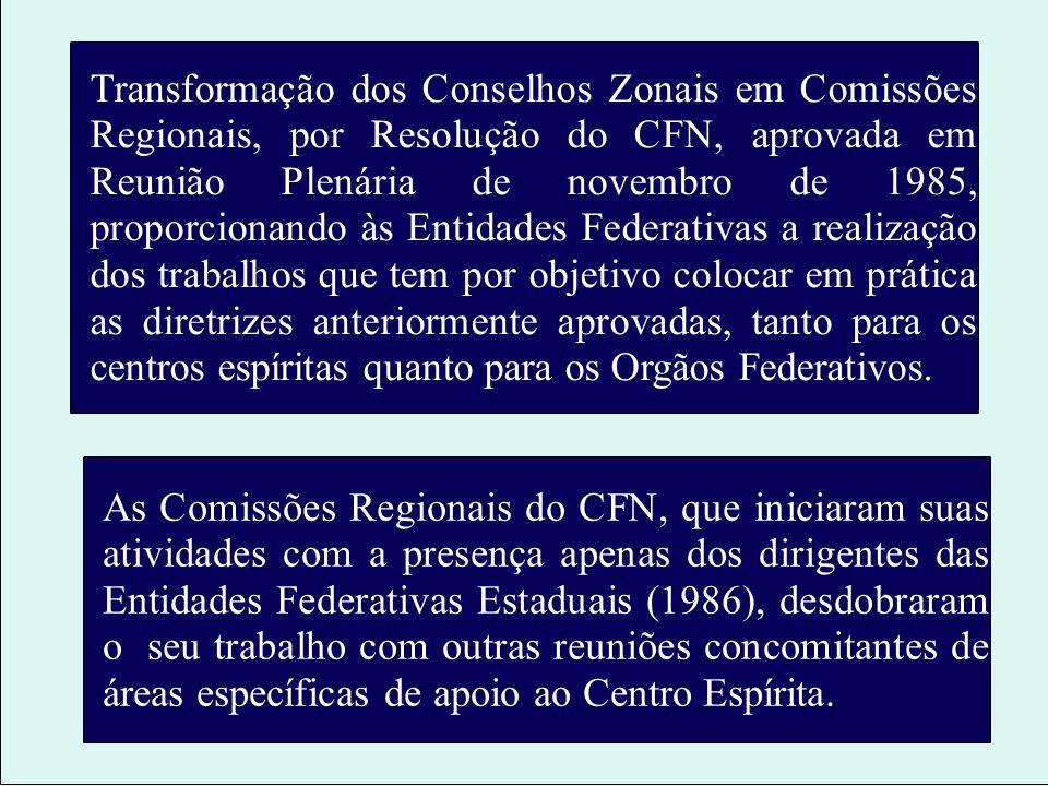 A adequação do Centro Espírita para o melhor atendimento de suas finalidades Aprovação, em Reunião Plenária do CFN de outubro de 1977, do texto A adeq