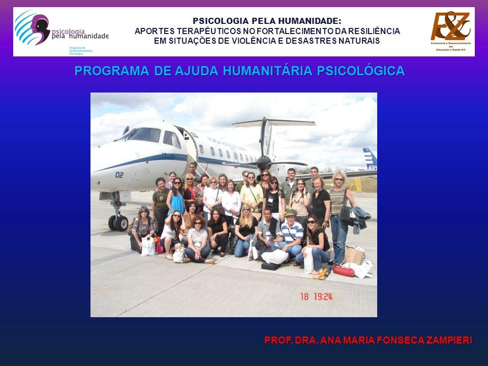 PSICOLOGIA PELA HUMANIDADE: APORTES TERAPÊUTICOS NO FORTALECIMENTO DA RESILIÊNCIA EM SITUAÇÕES DE VIOLÊNCIA E DESASTRES NATURAIS NARRATIVAS DO SOCIODRAMA CONSTRUTIVISTA DE CATÁSTROFES ABRIL 2010: NITERÓI – RIO DE JANEIRO GRUPO DE 62 PESSOAS (ABRIGO / COLÉGIO): - 29 ADULTOS:20 FEMININOS DE 21 A 67 ANOS 09 MASCULINOS DE 20 A 68 ANOS - 05 IDOSOS:03 FEMININOS DE 65, 67 E 70 ANOS 02 MASCULINOS DE 68 A 70 ANOS - 25 CRIANÇAS: FEMININOS DE 04 A 10 ANOS MASCULINOS DE 03 A 11 ANOS - 03 ADOLESCENTES: 02 FEMININOS DE 14 E 15 ANOS 01MASCULINOS DE 14 ANOS