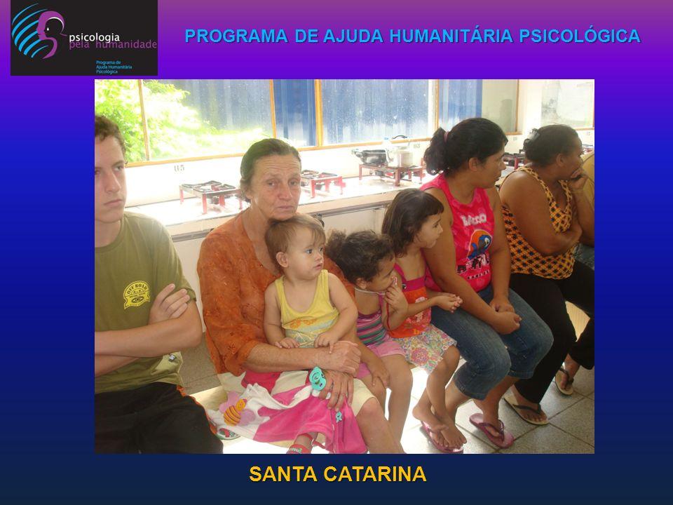 PROGRAMA DE AJUDA HUMANITÁRIA PSICOLÓGICA SANTA CATARINA