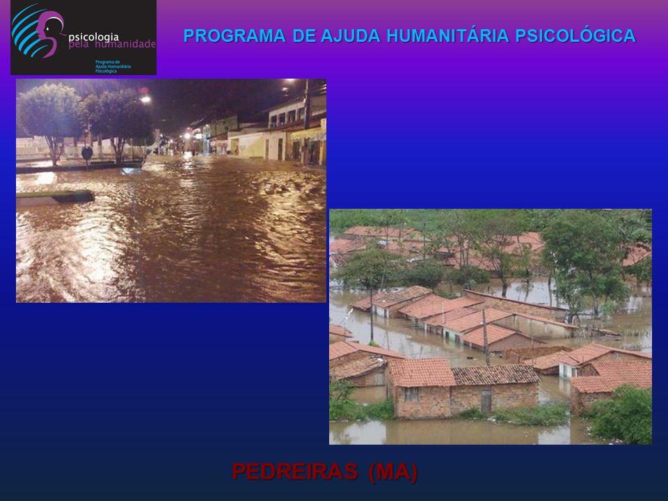 PROGRAMA DE AJUDA HUMANITÁRIA PSICOLÓGICA PEDREIRAS (MA)