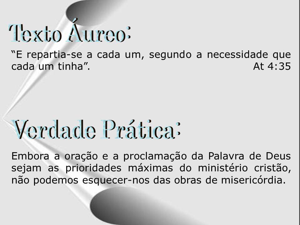 Esboço da Lição: 3 – ASSISTÊNCIA SOCIAL, UM IMPORTANTE NEGÓCIO 2 – A INSTITUIÇÃO DO DIACONATO 1 – AS DORES DO CRESCIMENTO