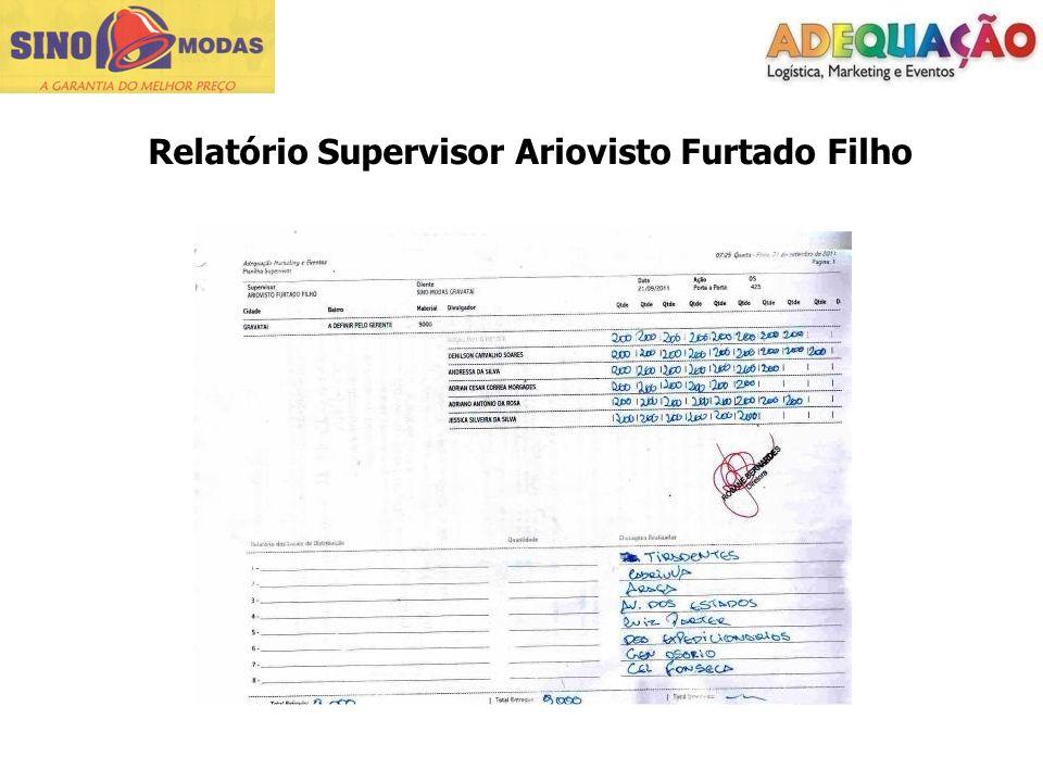 Relatório Supervisor Ariovisto Furtado Filho