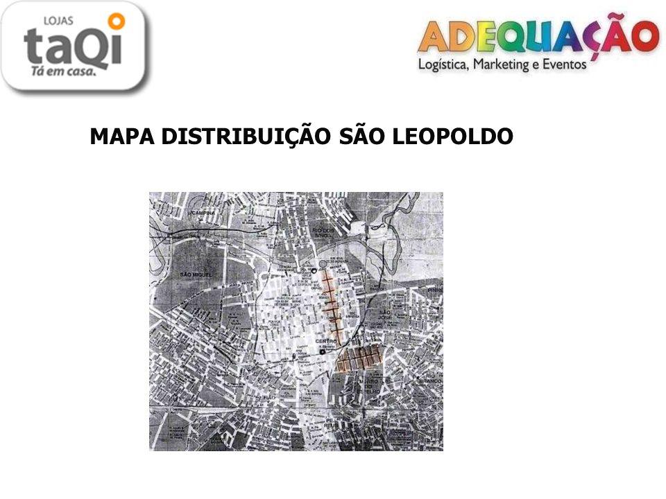 MAPA DISTRIBUIÇÃO SÃO LEOPOLDO