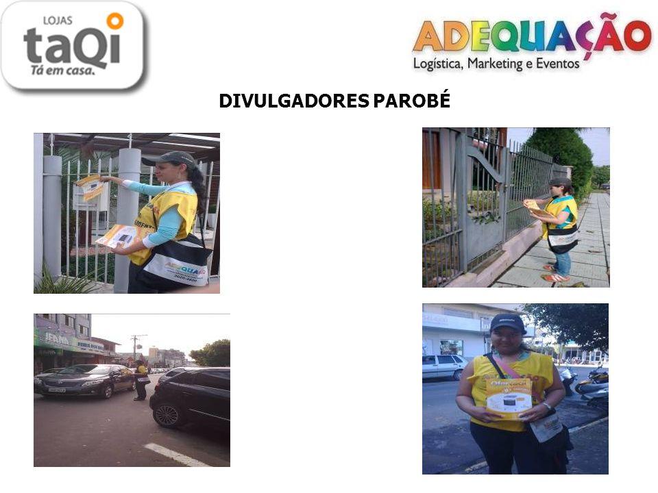 DIVULGADORES PAROBÉ