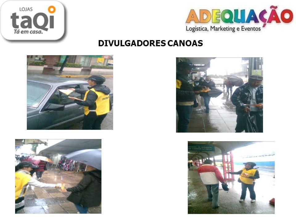LOCAIS DE DISTRIBUIÇÃO NH ( FILIAL 35) - Mão a Mão: Centro - Porta a Porta: Centro - O material foi distribuído no dia 14/07/2011