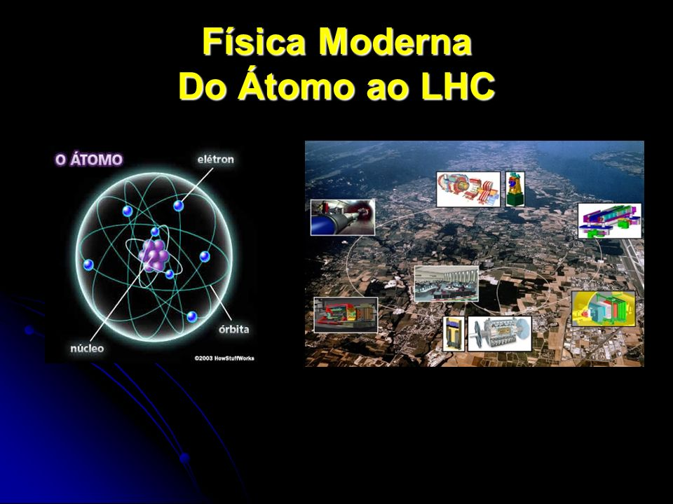 Física Moderna Do Átomo ao LHC