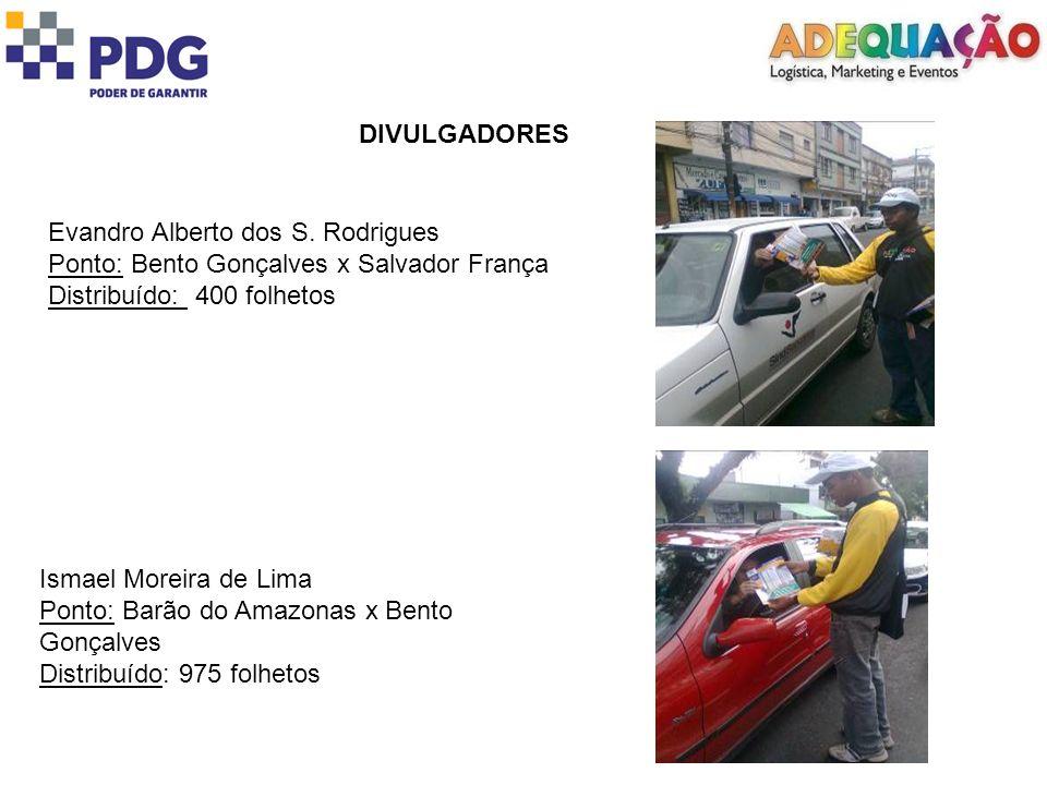 DIVULGADORES Evandro Alberto dos S.