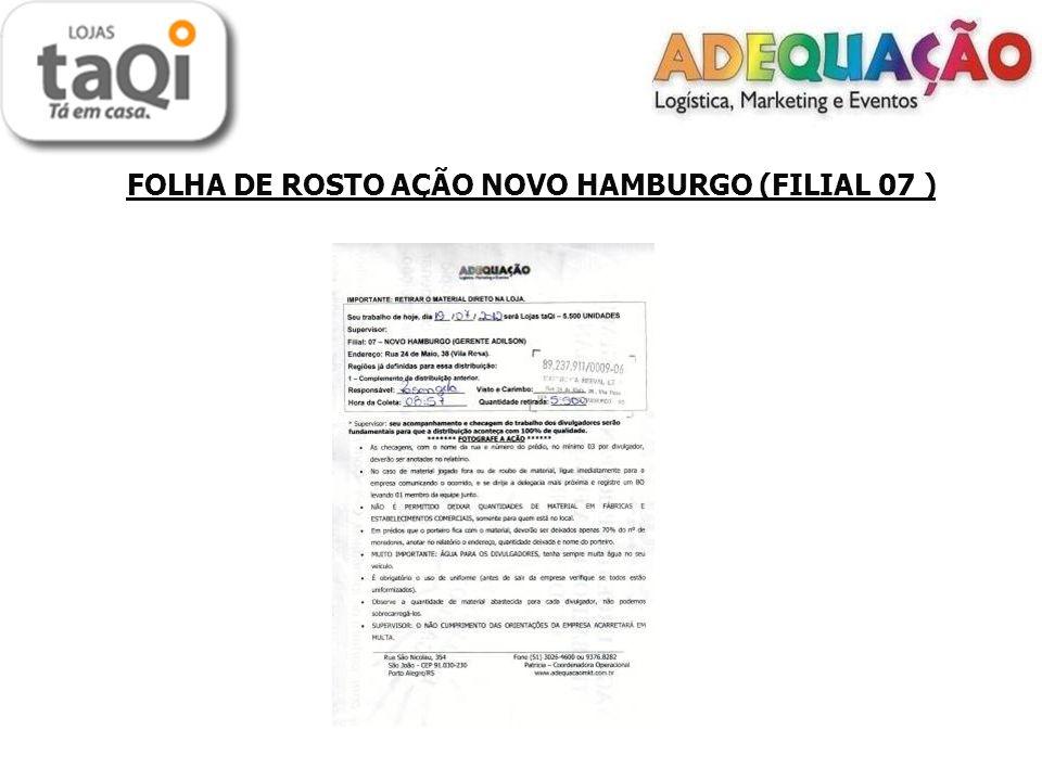 FOLHA DE ROSTO AÇÃO NOVO HAMBURGO (FILIAL 07 )
