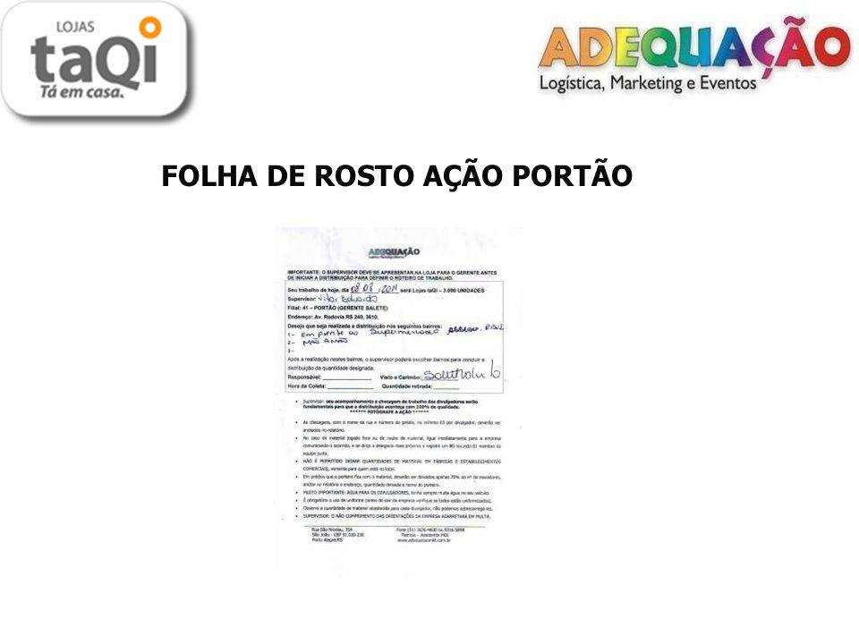 FOLHA DE ROSTO AÇÃO PORTÃO
