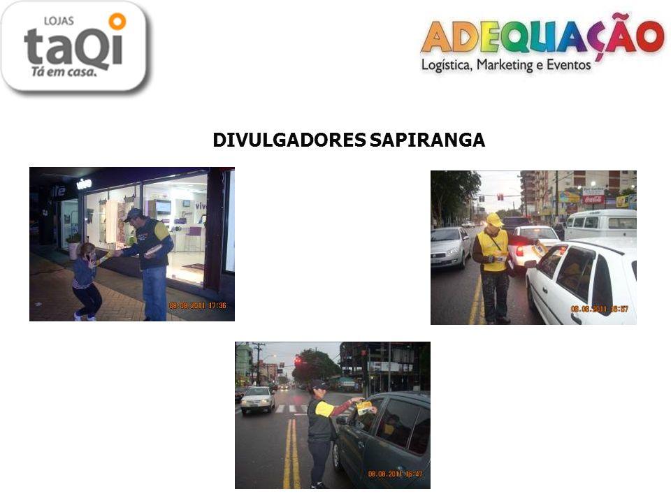 DIVULGADORES SAPIRANGA