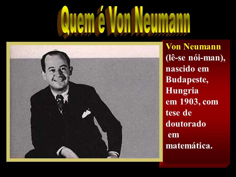 Em um pequeno texto escrito em 30 de junho de 1945, Von Neumann definiu os princípios básicos do computador. Estes princípios são aceitos até hoje com