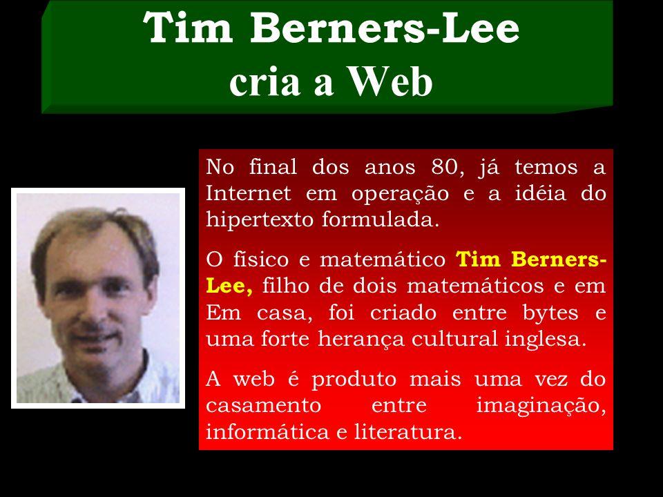 Web – história e invenção mina. Em 1965, Ted escreve sobre a idéia de que computadores dariam às pessoas a possibilidade de escrever e publicar textos