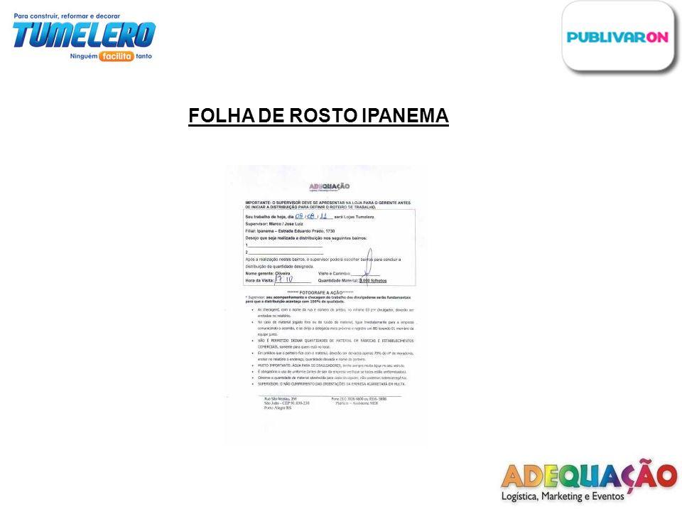 FOLHA DE ROSTO IPANEMA