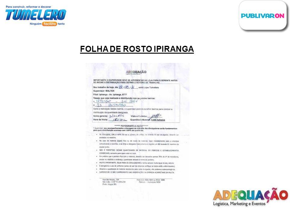FOLHA DE ROSTO IPIRANGA