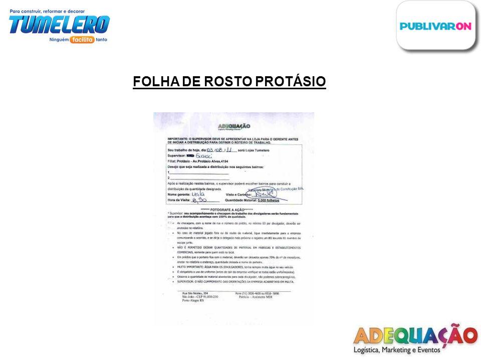 FOLHA DE ROSTO PROTÁSIO