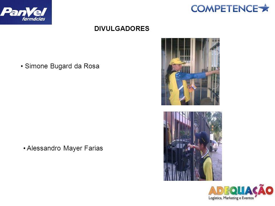 DIVULGADORES Paulo Henrique Santos de Oliveira Jorge Luis Martins da Silva