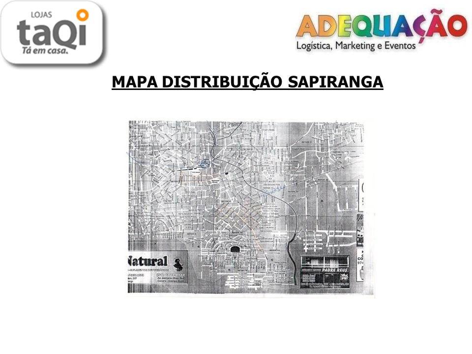 MAPA DISTRIBUIÇÃO SAPIRANGA