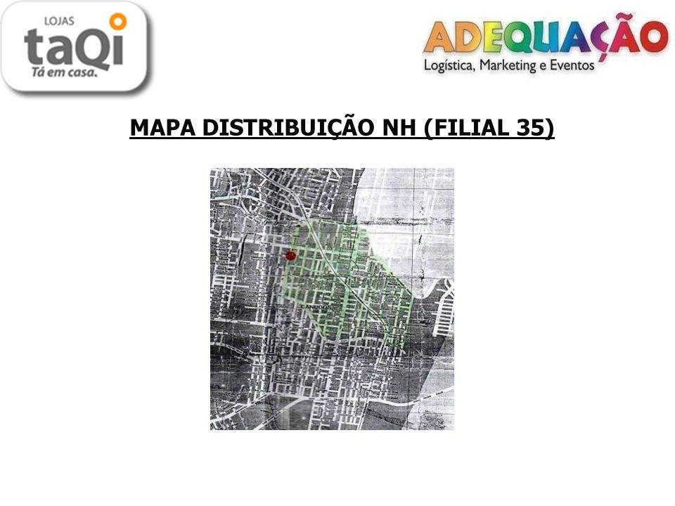 MAPA DISTRIBUIÇÃO NH (FILIAL 35)