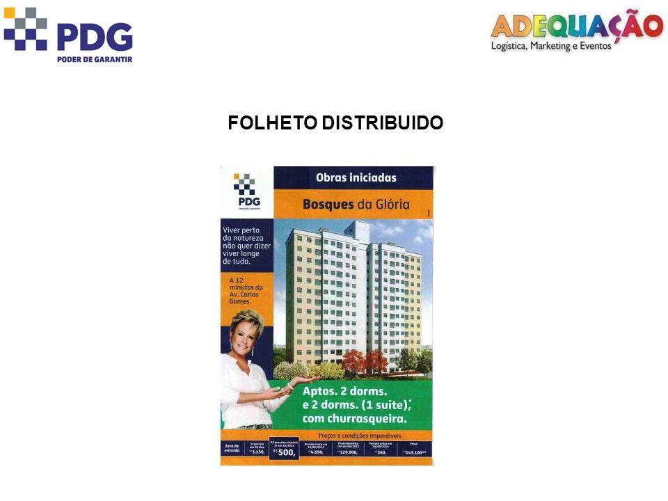 FOLHETO DISTRIBUIDO