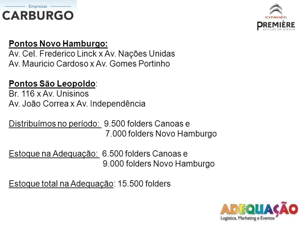 FOLHETO DISTRIBUIDO CANOAS / PORTO ALEGRE