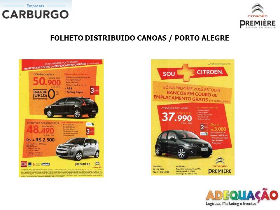 Divulgadores 11/09/2011 Ponto: Inconfidência x Getulio Vargas Divulgadora: Camila Oliveira de Oliveira Distribuído: 900 folhetos
