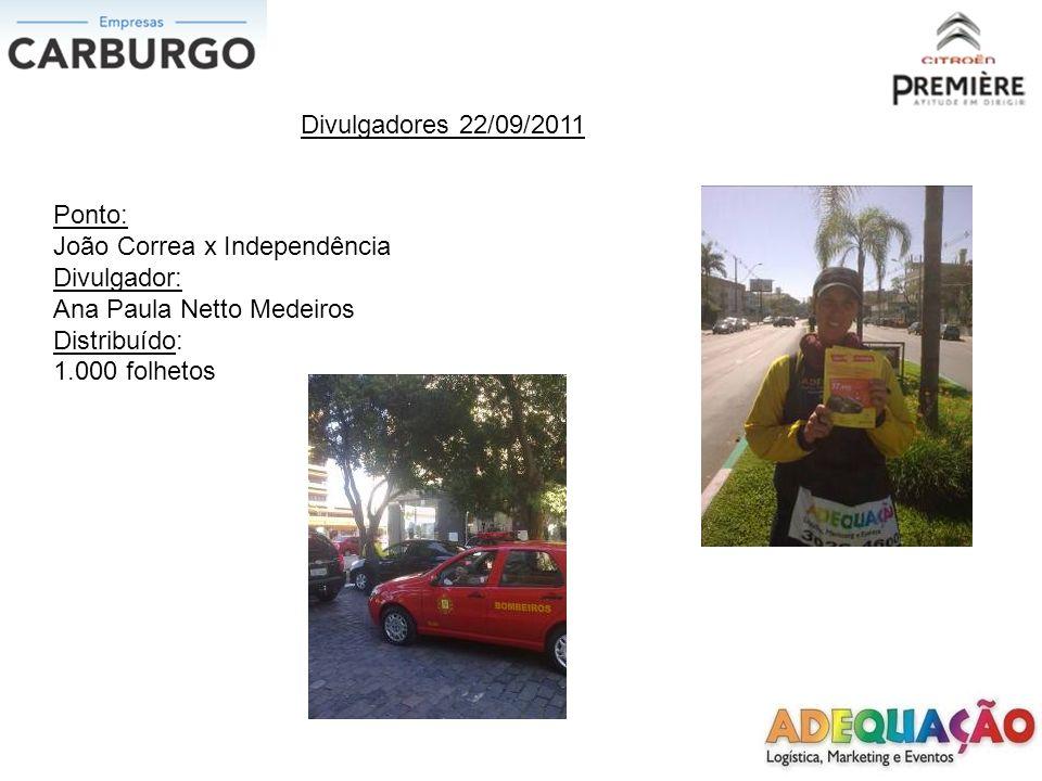 Divulgadores 24/09/2011 Ponto: Edu Chaves x Av.