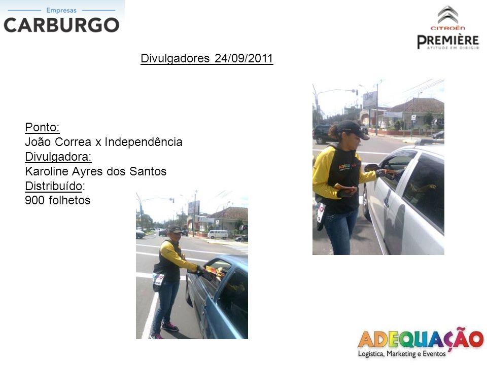 Divulgadores 26/09/2011 Ponto: Edu Chaves x Av.