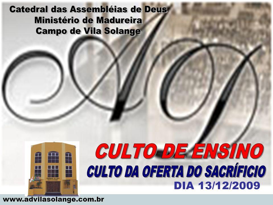 www.advilasolange.com.br DIA 13/12/2009