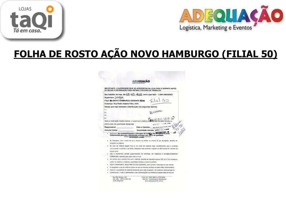 FOLHA DE ROSTO AÇÃO NOVO HAMBURGO (FILIAL 50)