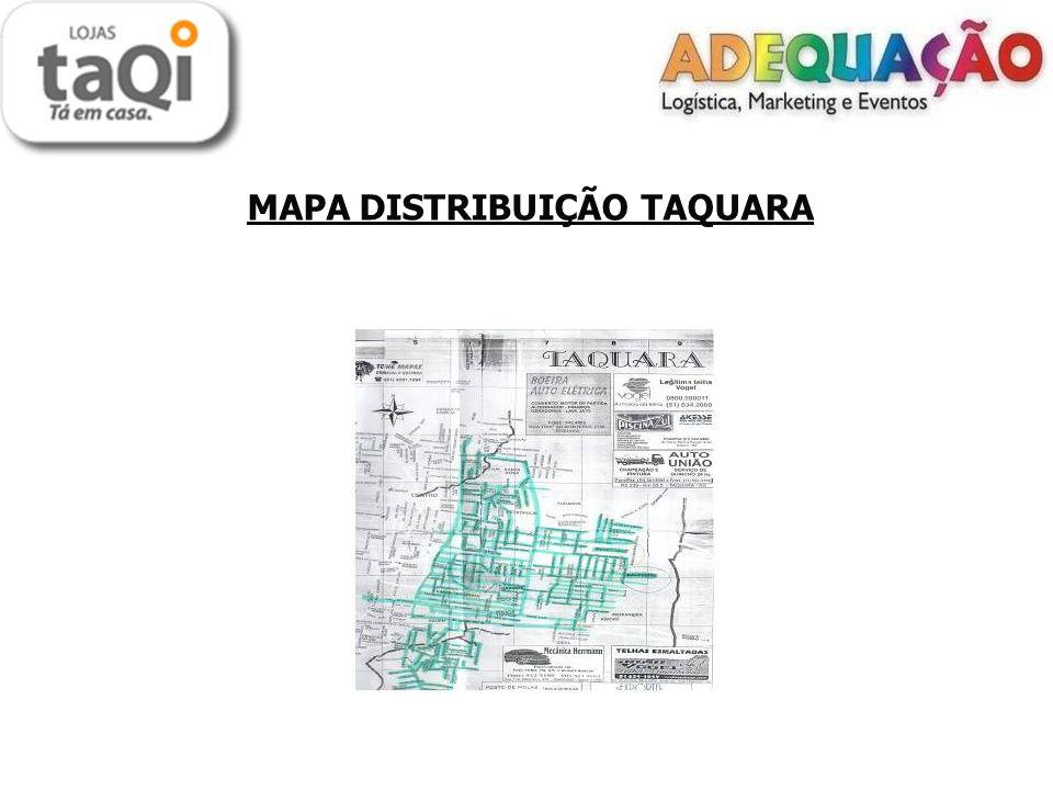 MAPA DISTRIBUIÇÃO TAQUARA