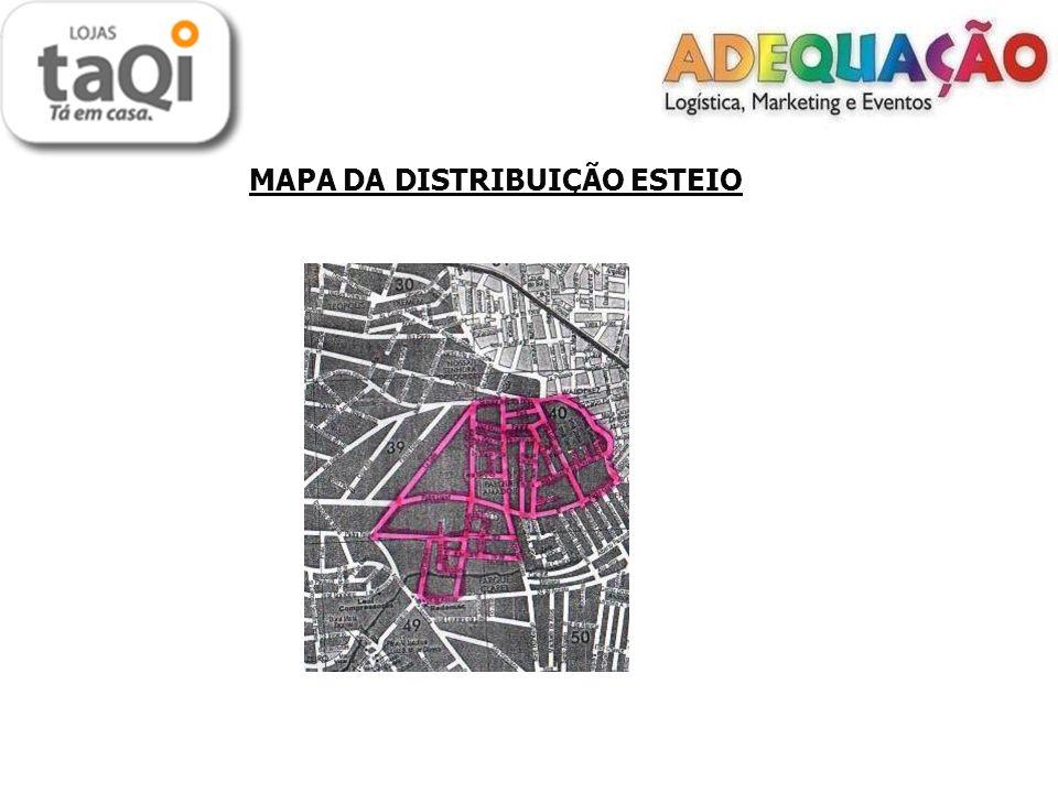 LOCAIS DE DISTRIBUIÇÃO TAQUARA Porta a Porta: - Empresa - Jardim do Prado - Cruzeiro - Santa Rosa - O material foi todo distribuído no porta a porta.